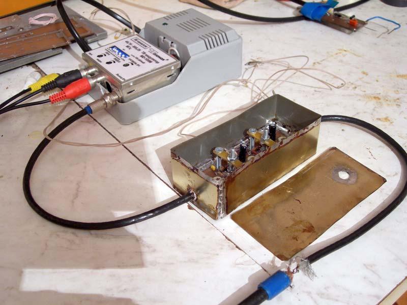 Amateur tv transmitter